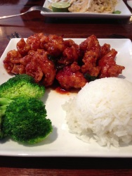 General Tao's Chicken, a great sweet and savory dish with the perfect crispy outside and tender inside.
