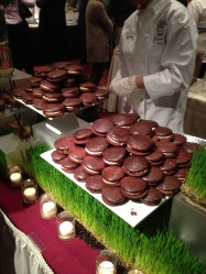 Fudge Chocolate & Caramel Whoopee Pie by Chef Alfred Stephens