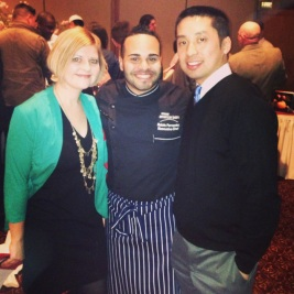 FP with Executive Chef Kelvin Fernandez at C-CAP Benefit
