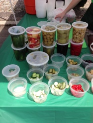 Samples of pickles
