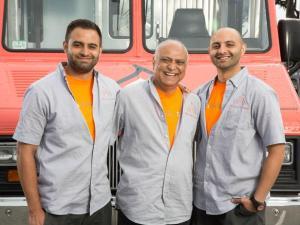 T3 Team: Shaun, Sam & Mike Swaleh (L-R)