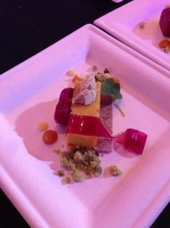 Dessert from Chef Thiago Silva