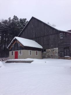 Home on the farm for Christmas!