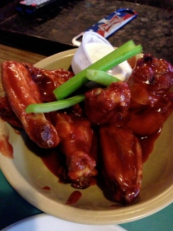 Candlelight Inn's famous wings
