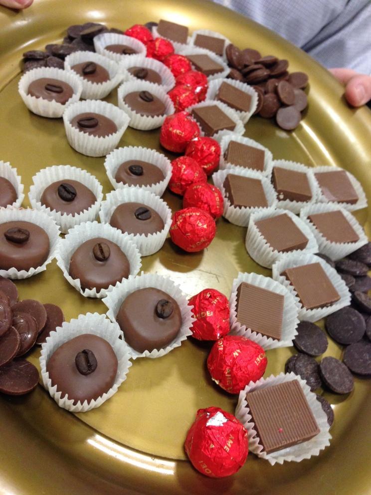 Mmm...chocolates!