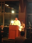 Chef MIchael White speaking