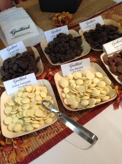 Assorted chocolates from Guittard Chocolate