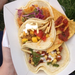 Masala tacos