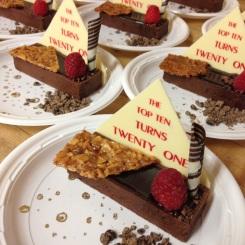 Chocolate Espresso CrËme Brule with Bourbon Vanilla Gelato by Rudi Weider, Master Pastry Chef, Hilton San Diego Bayfron