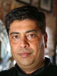 Navjot Arora, Executive Chef and Co-Owner of Chutney Masala in Irvington, NY.