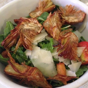 Fried Artichoke Salad