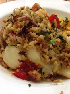 Kedgeree: Korean fried rice with eggs
