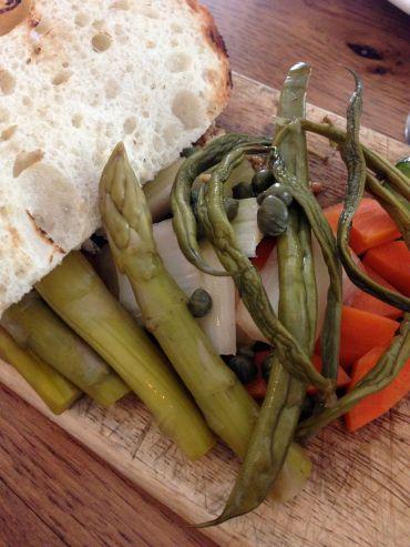 Pickled summer veggies