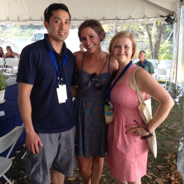 Great to meet Nicole Gaffney from Food Network Star!