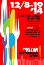 Peru Picante Restaurant Week