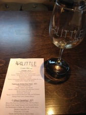 Tasting menu at big Little.