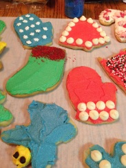 Holiday-themed cookies!