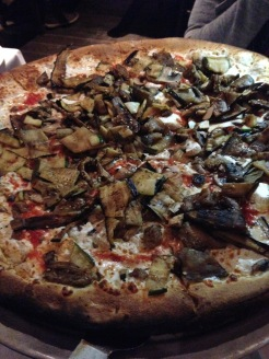 Mushrooms on pizza? Yes please!