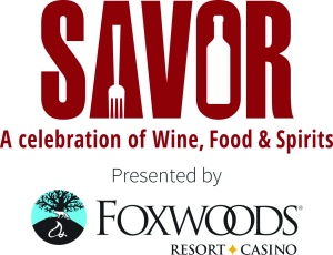 Savor+Foxwoods logo
