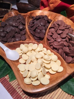 Assorted baking chocolates from Guittard