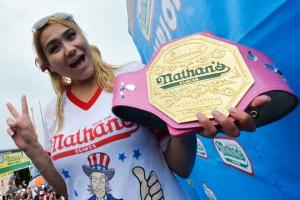 Champion Miki Sudo (Photo Credit: NY Post)