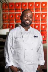 Chef Deljuan Murphy, Executive Sous Chef at Fleet's Landing in Charleston, SC. Picture courtesy of Fleet's Landing;s website.