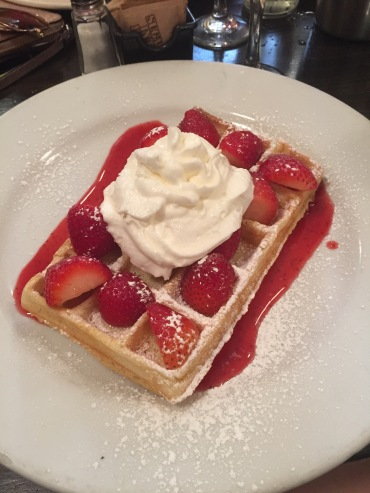 Belgian waffles at their best!