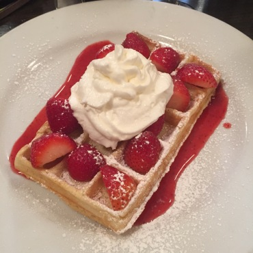 Belgian waffles at their best!