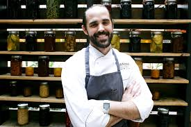 Chef Chris Starkus of Urban Farmer. Picture courtesy of Chef's Week PDX.