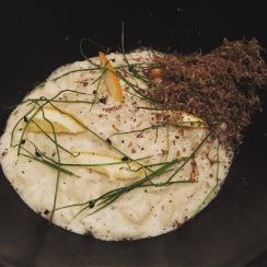 Carnaroli Risotto, mushrooms, black truffle, mascarpone