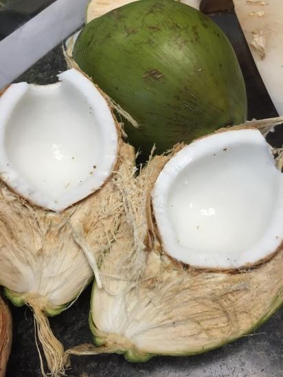 Chopped coconut