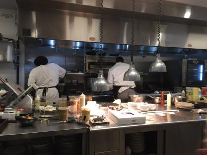 Sneak peak into the kitchen at Jardin Restaurant