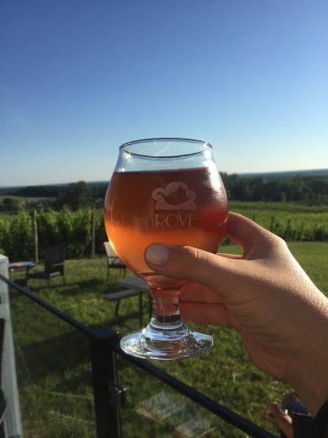 Cherry Cider at Rove Estates.