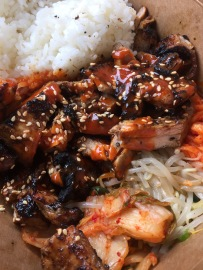 Spicy chicken with rice from KJG