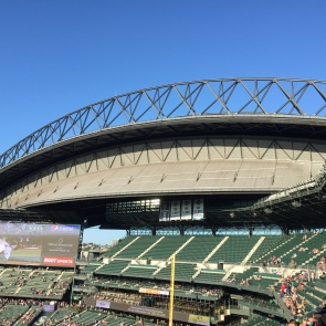 Great day for baseball at Safeco Field