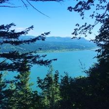 View as we walk up Multnomah