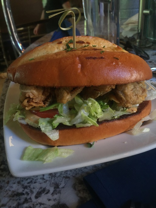 Another Oyster Po Boy...