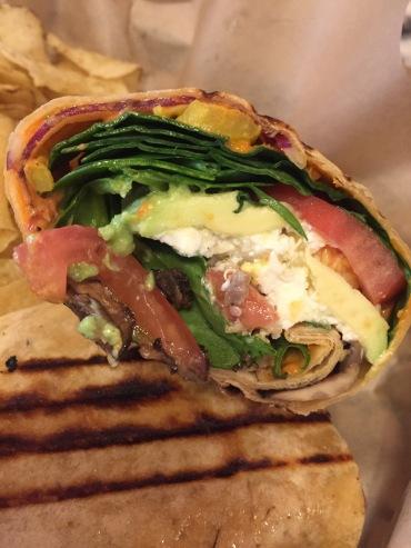 Bakersfield-Quinoa Tabbouleh, mushrooms, avocado, peppers and hummus
