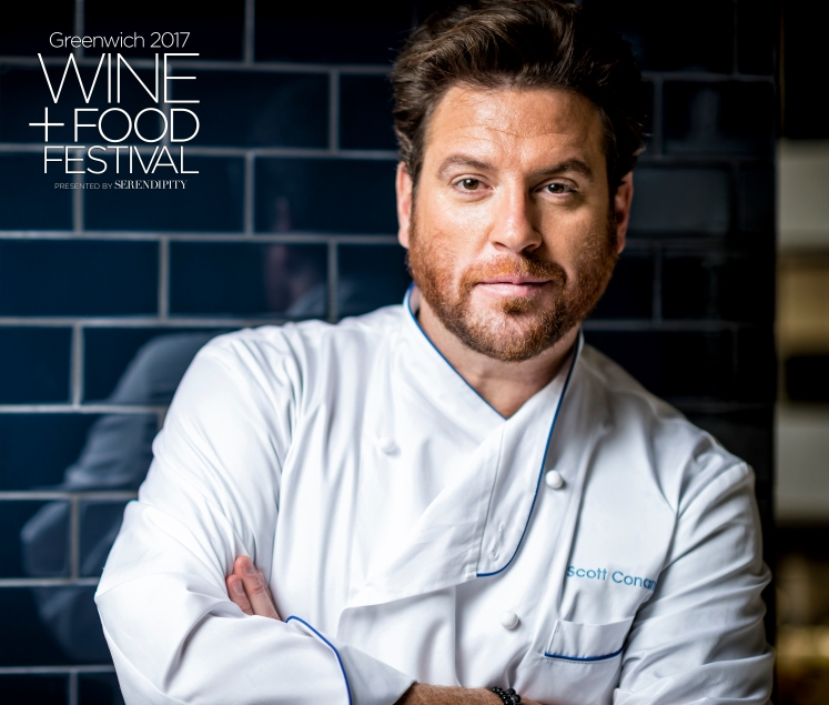 Scott Conant with GWFF