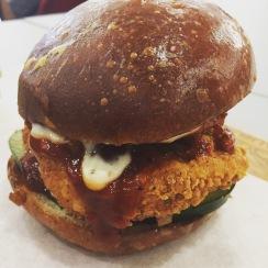 Sweet & Sour Kickin' Chicken sandwich